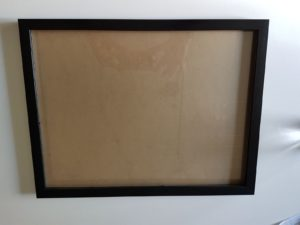The frame for shadow box
