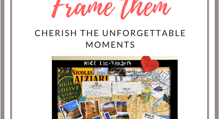 Travel Memories Framed