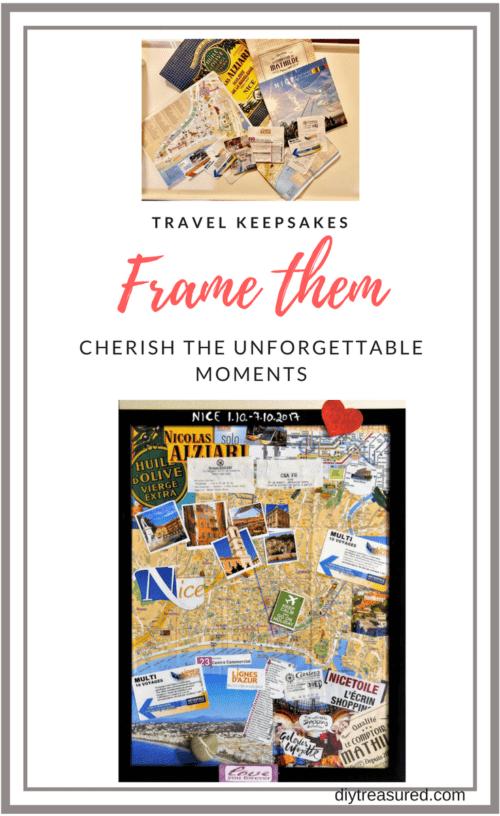 Travel Memories Framed