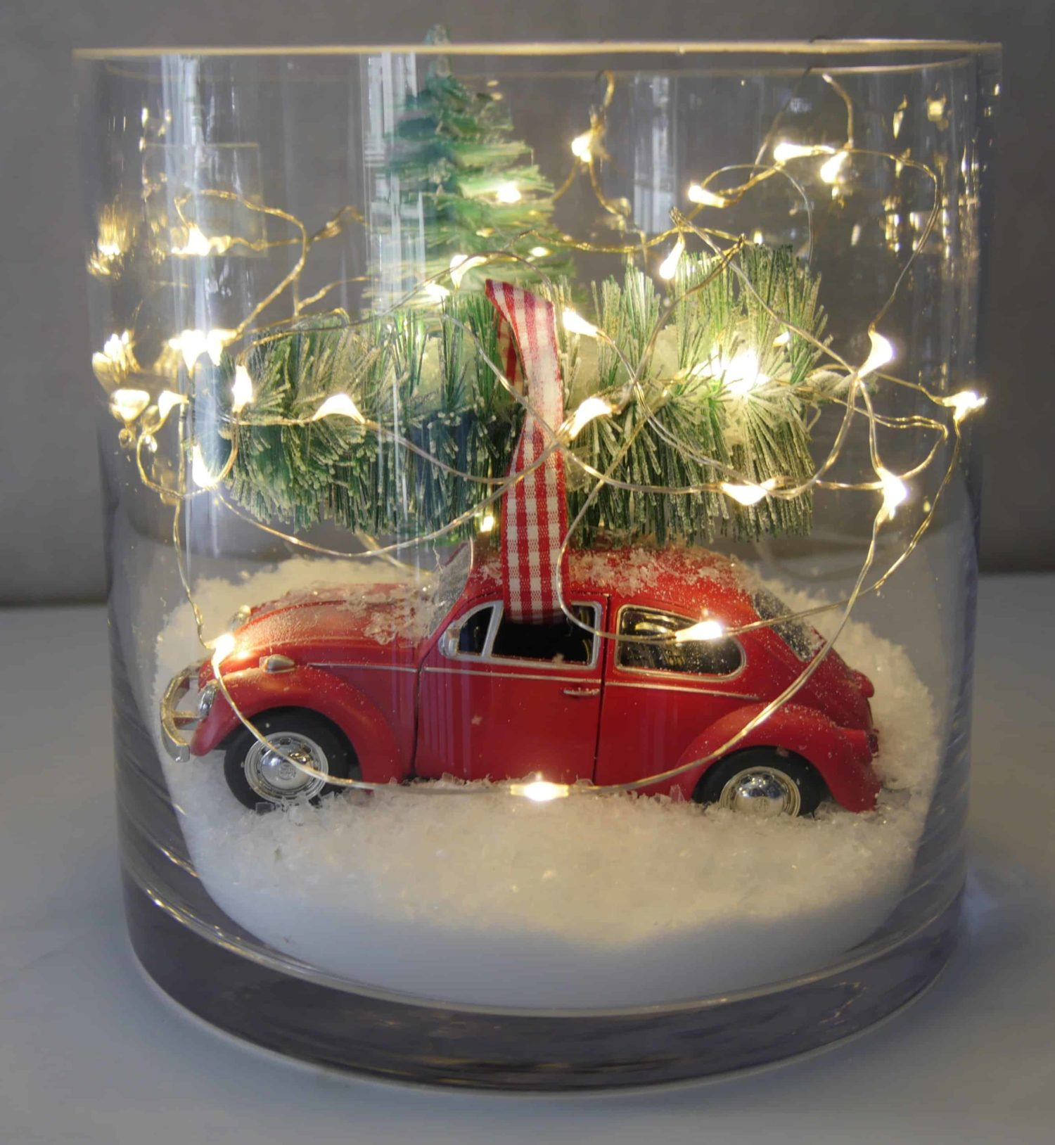 Car in a Jar for Christmas