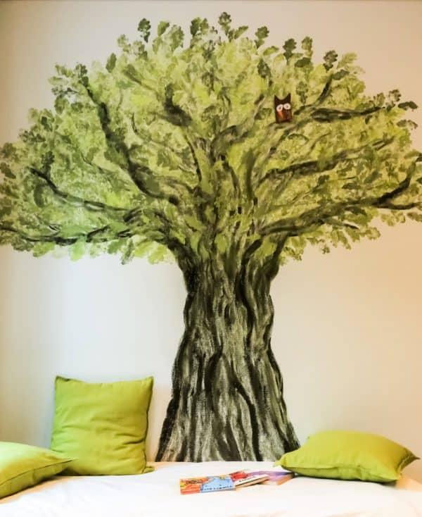 Inspiring wall art for the little ones