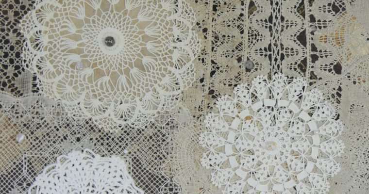 Repurposed Vintage Doilies
