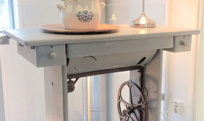 Easy furniture update with chalk paint