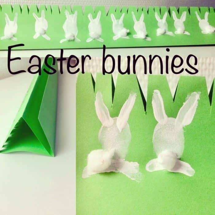 Easy Easter bunnies
