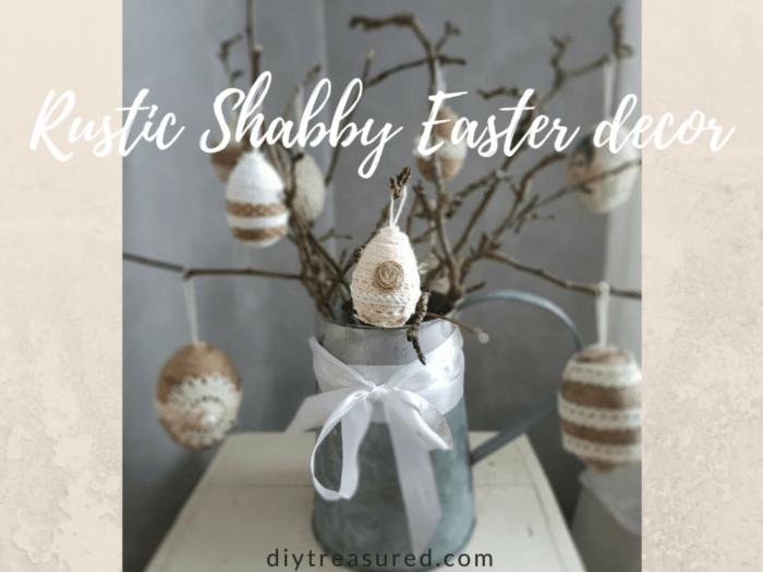 Rustic Shabby Easter decor