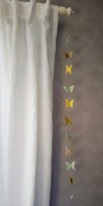 cute butterfly garland