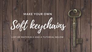 tutorial diy keychains