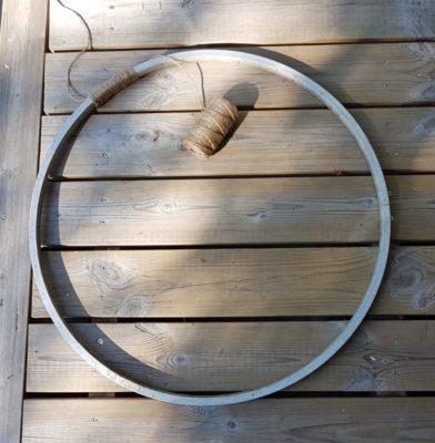 bike wheel makeover