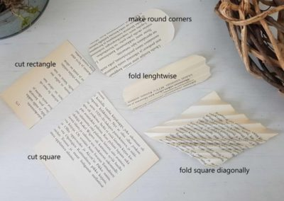 book page butterfly